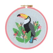 Image of Toucan cross-stitch kit