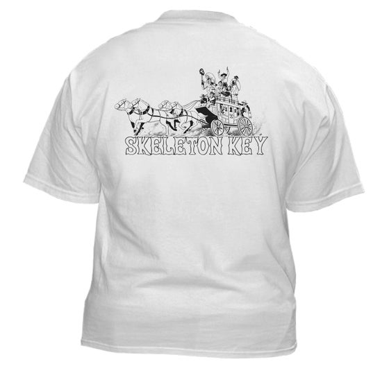 Image of SK Stagecaoch White S/S T-Shirt