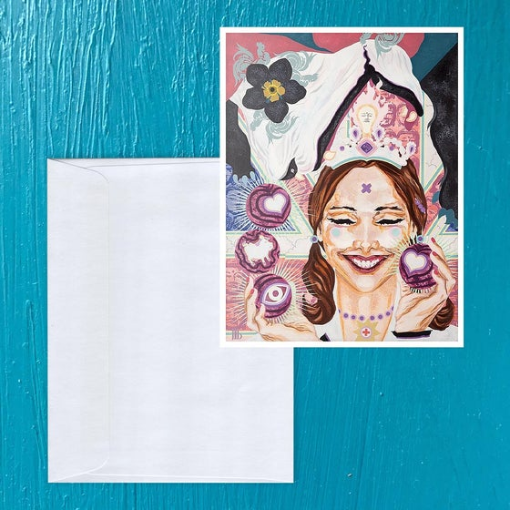 Image of Dazzling Dissolving: Chelsea Note card