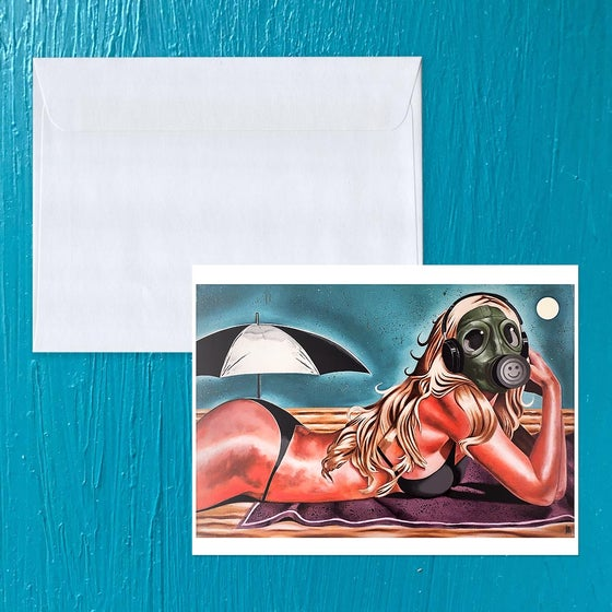 Image of California: Asphyxiate Note card