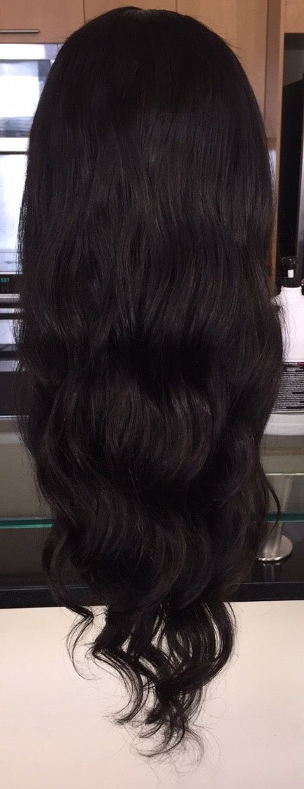 "Image of Indian Natural Waves 26"" Custom Lace Frontal Wig!"