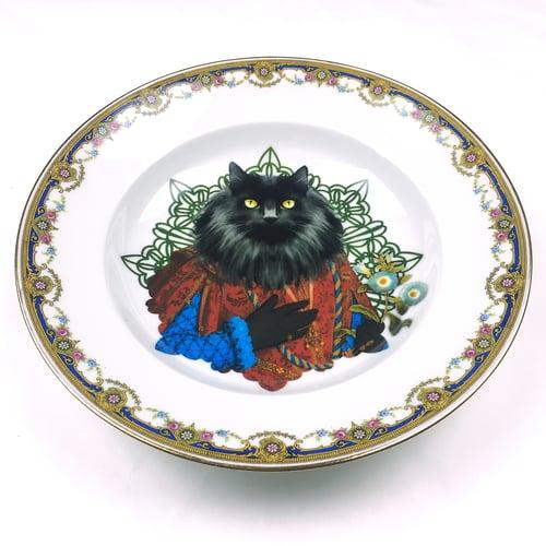 Image of Norwegian Lord - Vintage Limoges Porcelain Plate - #0448