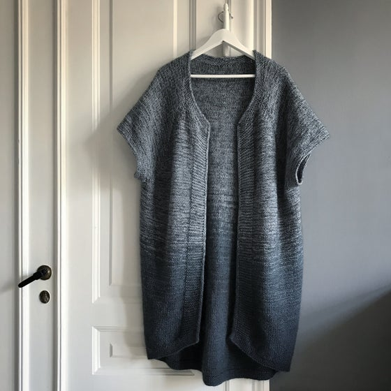 Image of Dip Dye Cape