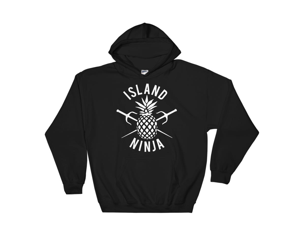 Image of Island Ninja Hoodie Black