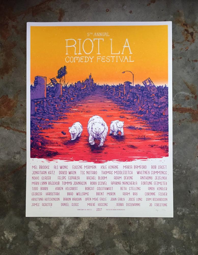 Image of Riot LA Comedy Festival Posters