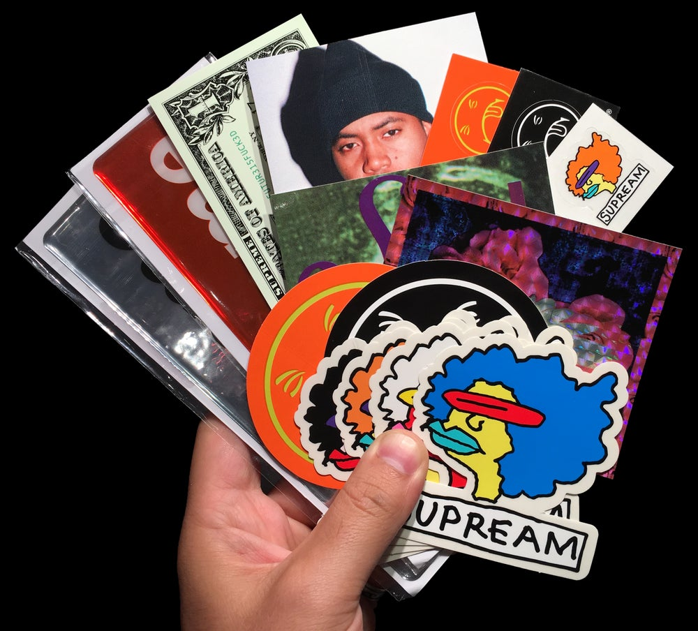 Image of FW17 Stickers (Drop Pack, Plastic, Nas, Ramm)