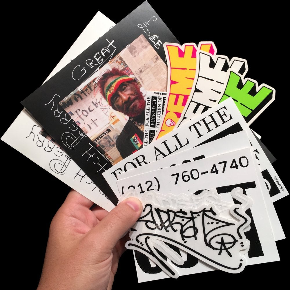 Image of 2010 Stickers (Motion/Adults Only/Cliver)