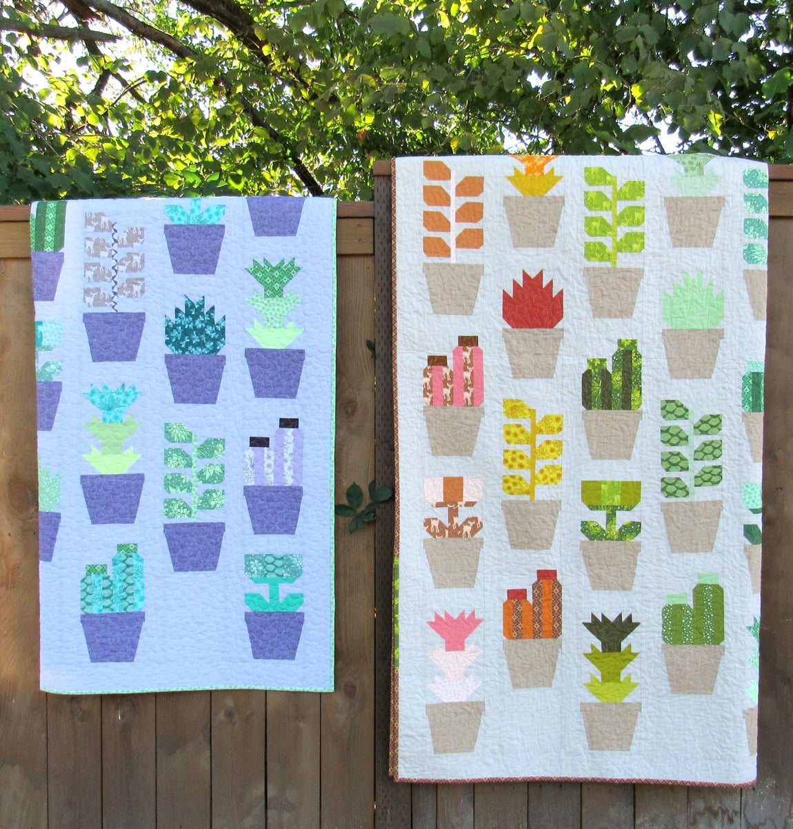 Patterns By Elizabeth Hartman Greenhouse Pdf Quilt Pattern