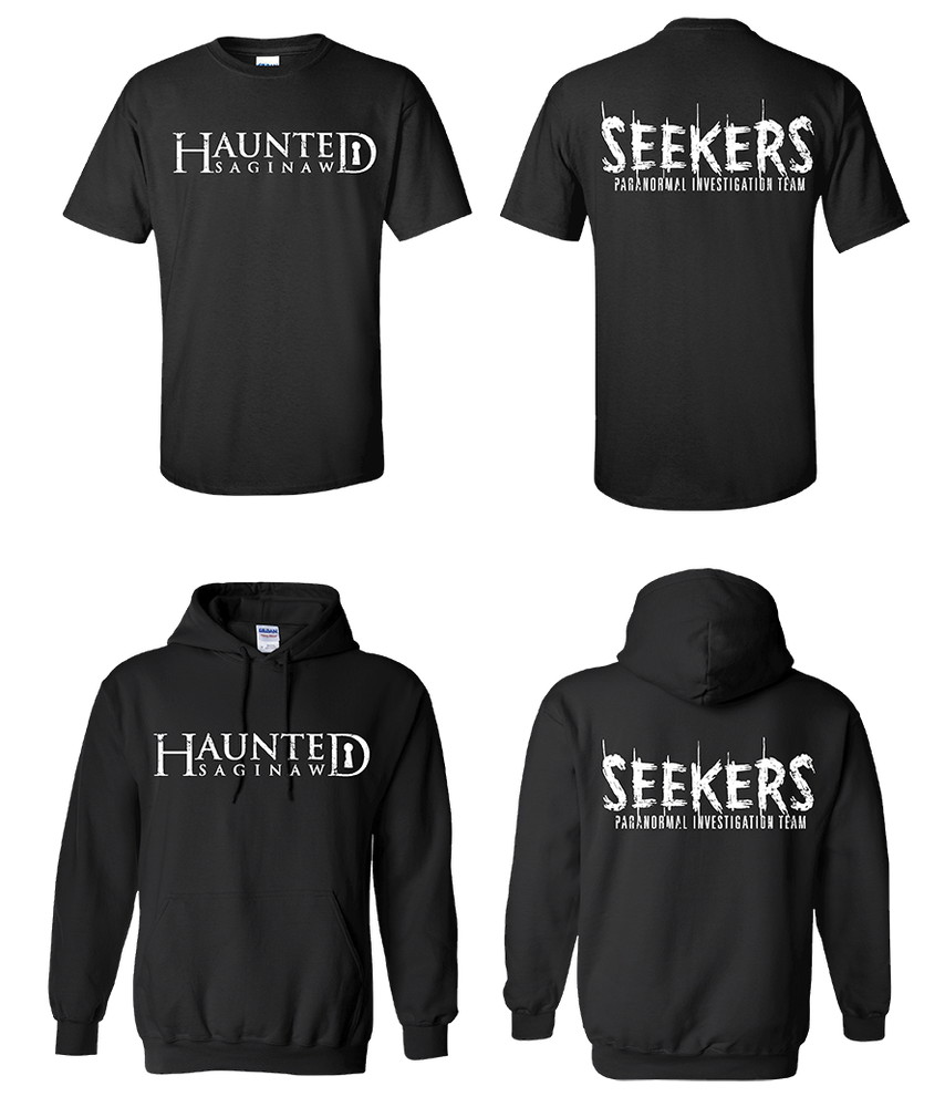 Image of Haunted Saginaw T-shirt & Hoodie Combo