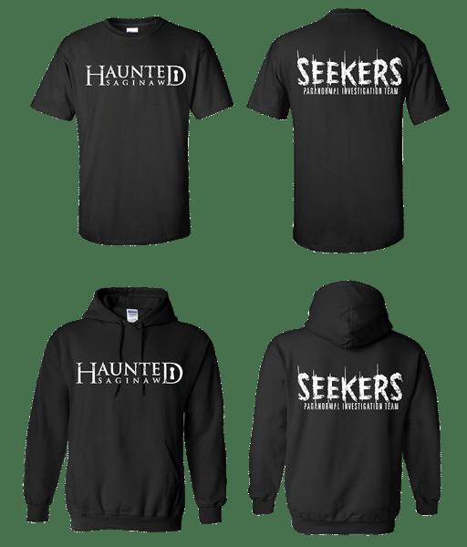 Image of Haunted Saginaw T-shirt & Hoodie Combo