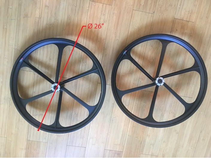 Image of Fat Tire Bike MAG rim set