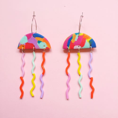 Image of Rainbow jellyfish collection