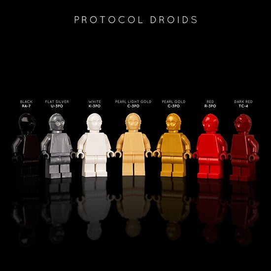 Image of STAR WARS PROTOCOL DROIDS