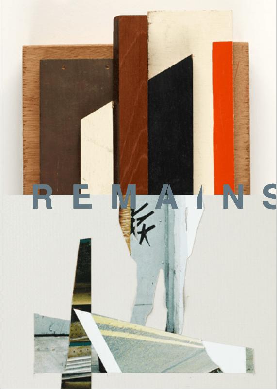 Image of R E M A I N S -  A6 book - Mark Murphy & John Bennett