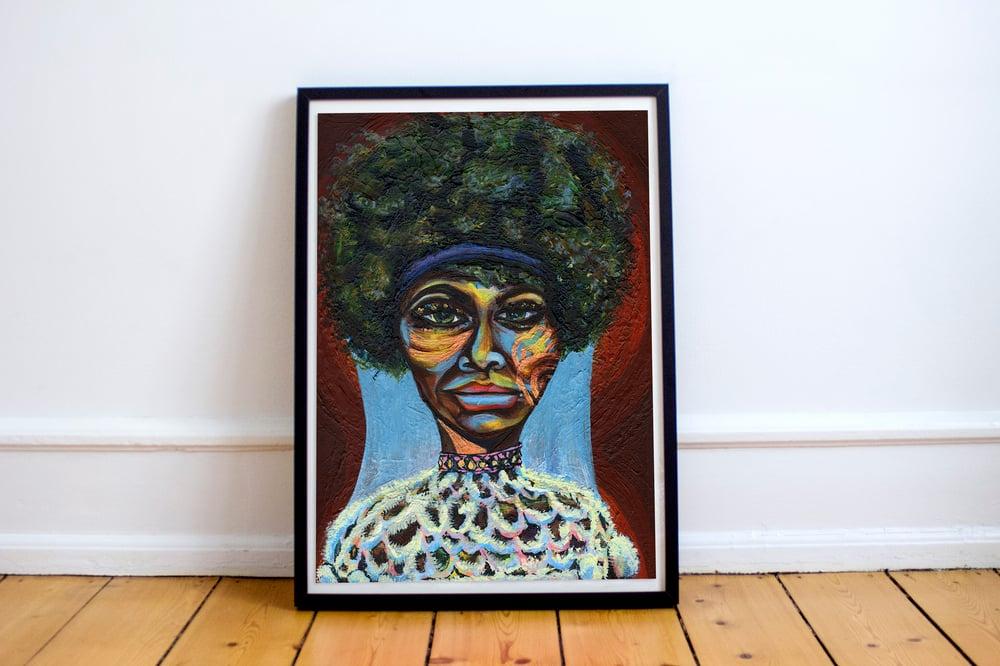 "Image of Eunice ""Nina Simone"" Waymon Giclée Print"