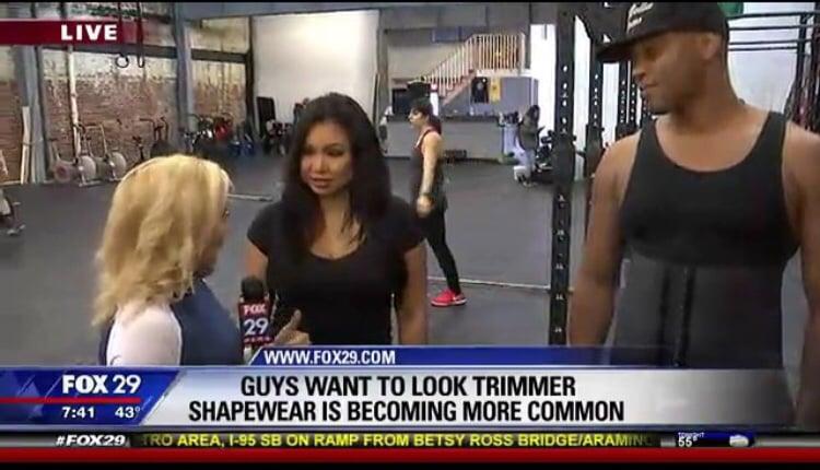 Image of Men's Latex waist trainer