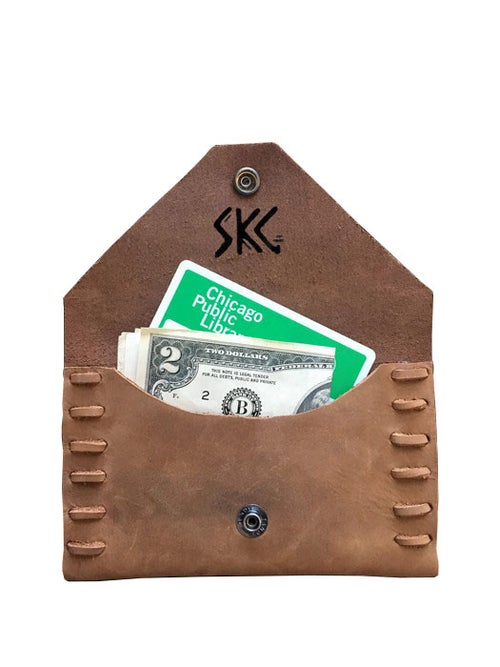 Image of Structured Cowhide Wallet