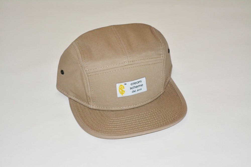 Image of Established Beige 5-Panel Hat