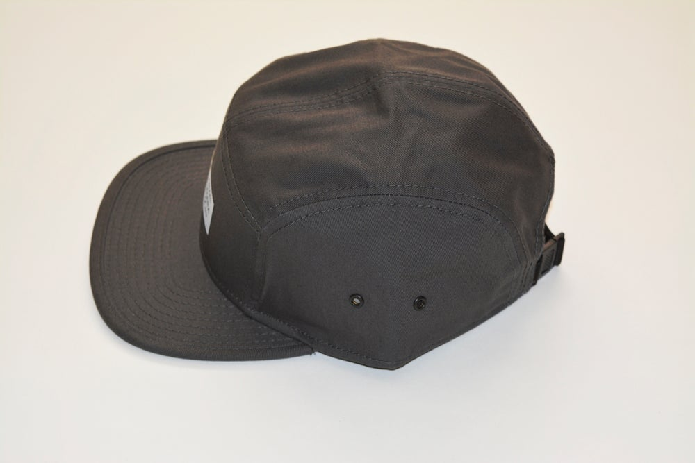 Image of Established Charcoal 5-Panel Hat