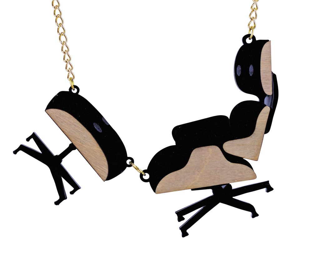 Image of Eames Chair Necklace