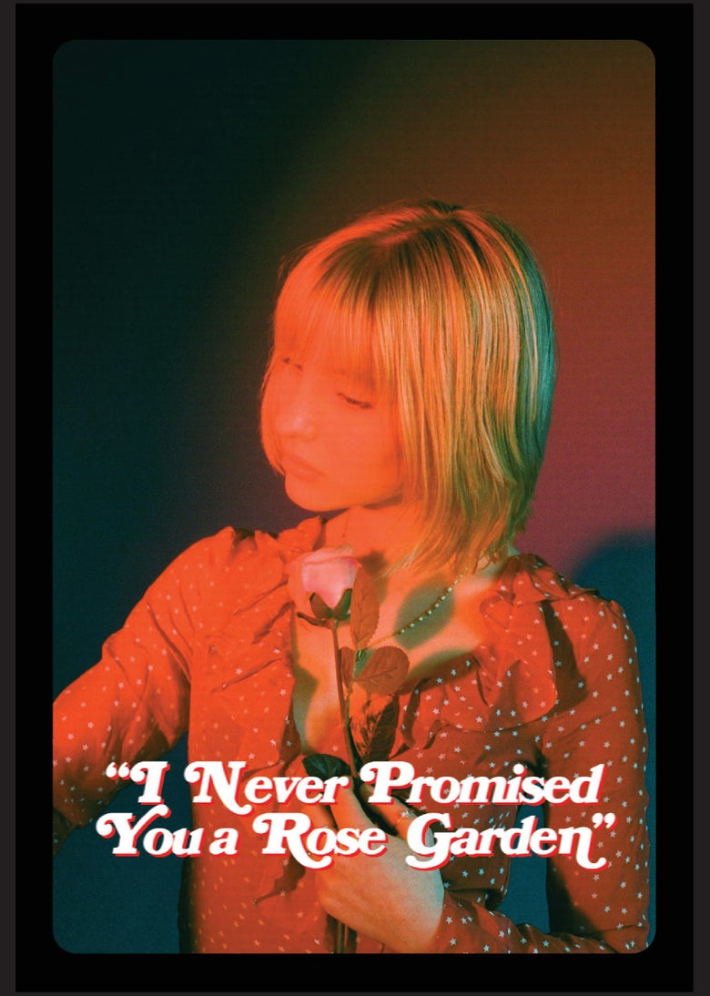 "Image of ""I Never Promised You a Rose Garden"" exhibition zine"