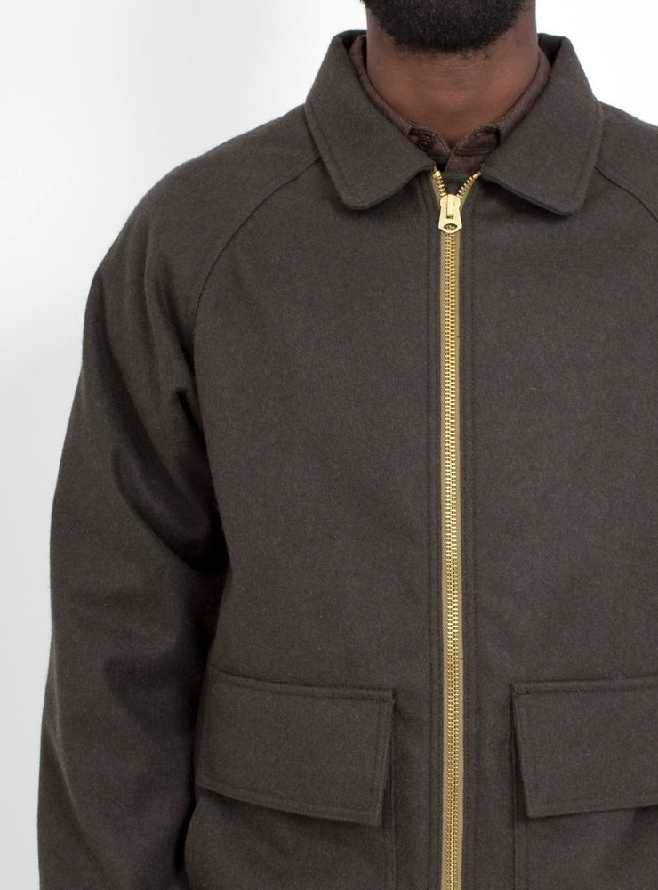 Image of Garbstore Base Blouson Jacket Olive