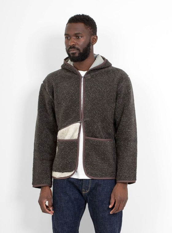Image of Garbstore Easy Hood Jacket Charcoal