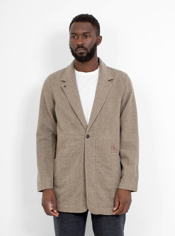 Image of Garbstore Simple Wren Jacket Oatmeal
