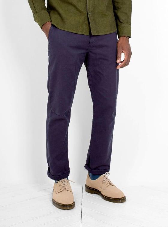 Image of Garbstore Pocket Line Trouser Navy