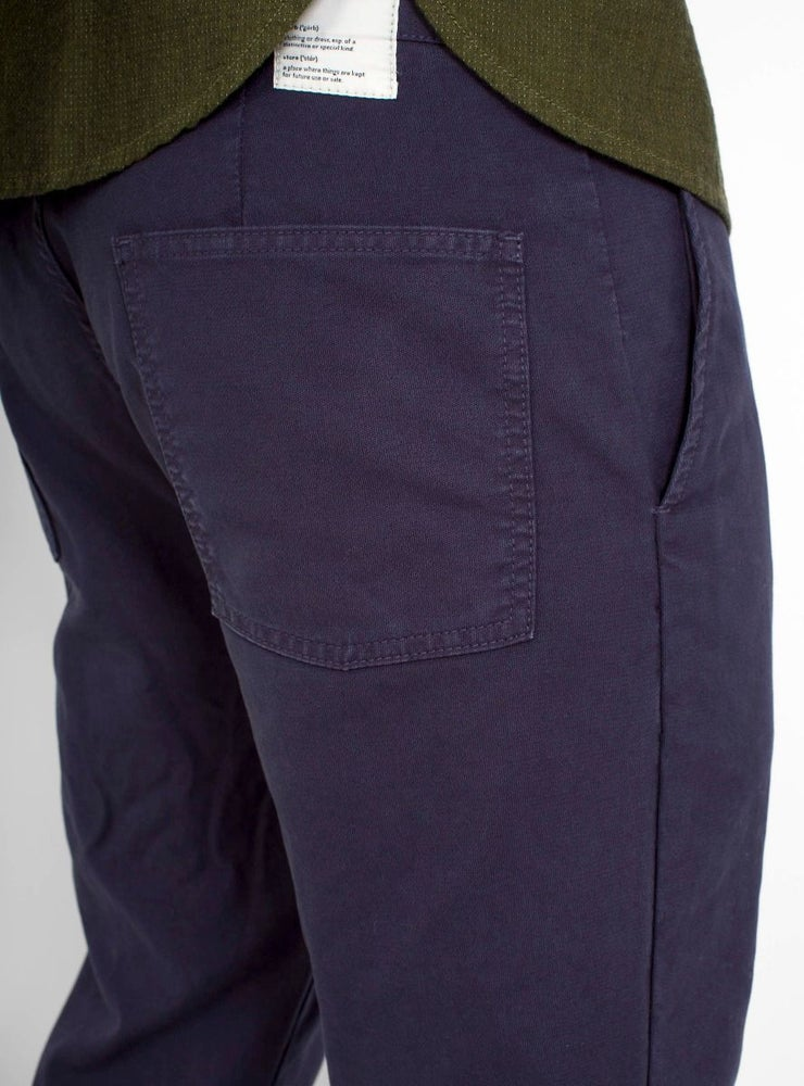 Image of Garbstore Pocket Line Trouser Navy