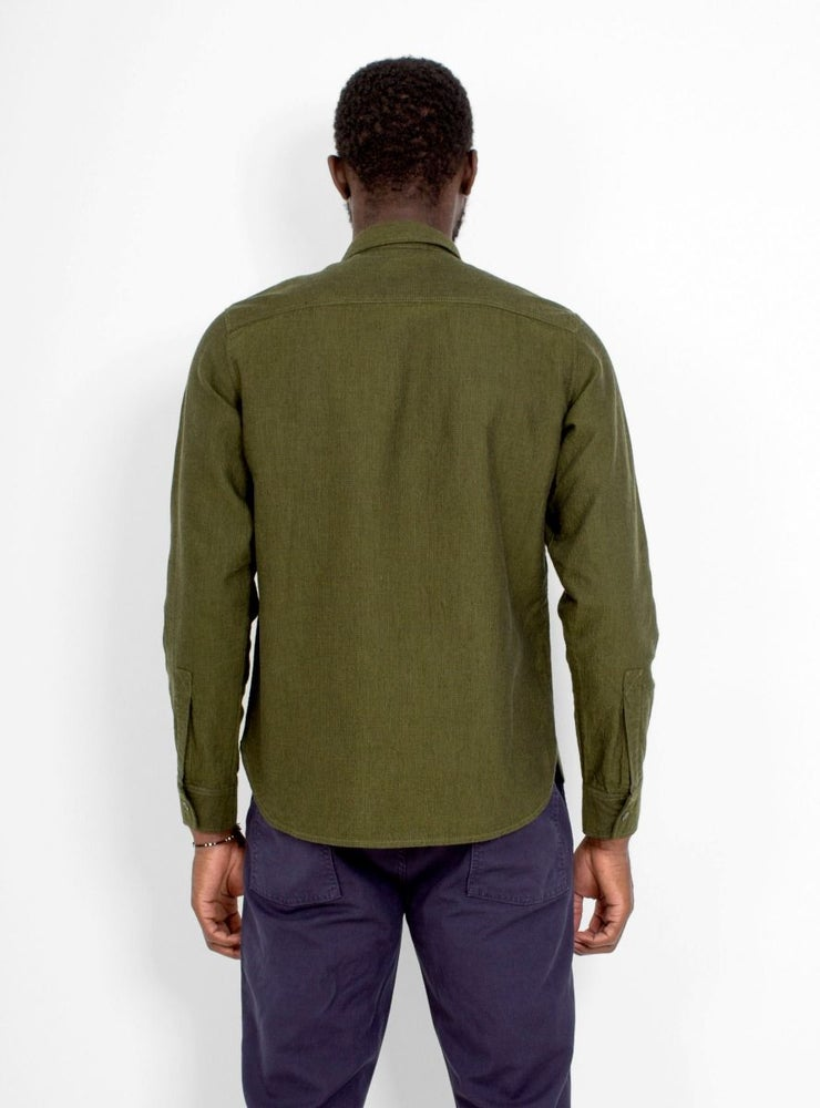 Image of Garbstore Facet Shirt Olive
