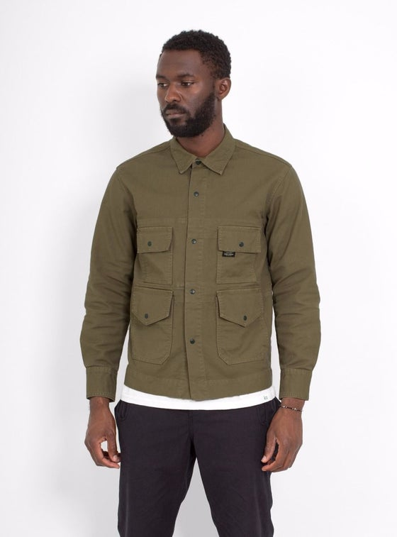 Image of Garbstore Flight Shirt Olive