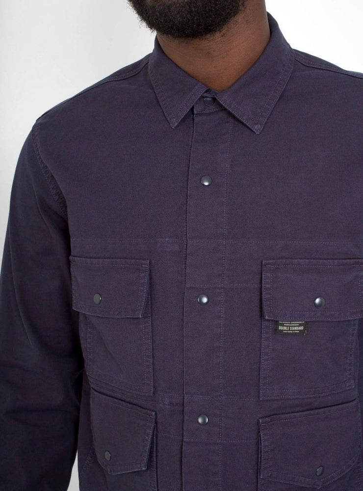 Image of Garbstore Flight Shirt Navy