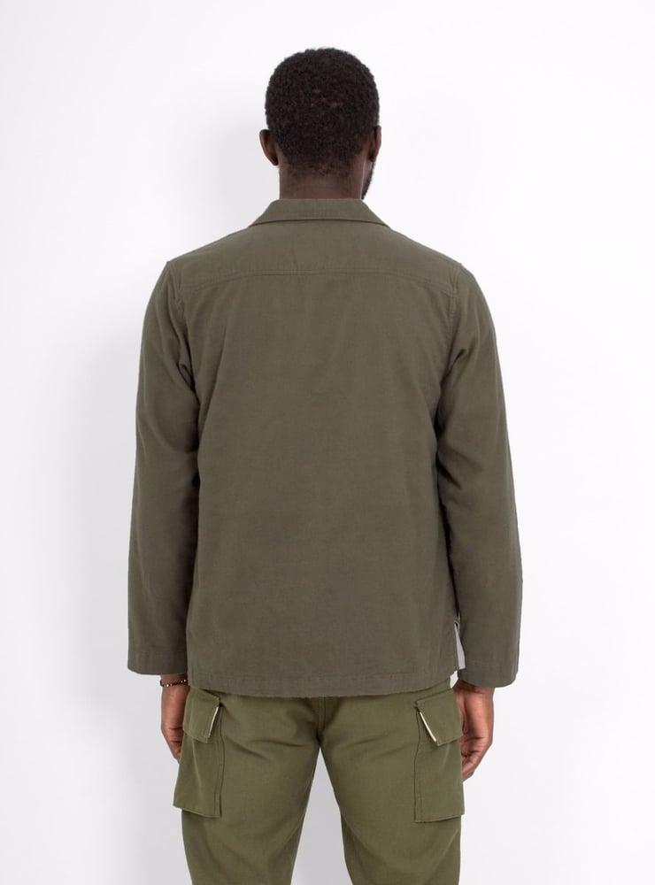 Image of Garbstore L/S Slacker Shirt Brown