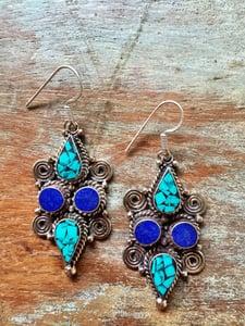 Image of Nepalese earrings #5