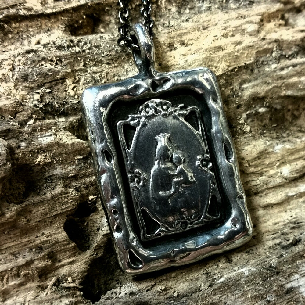 "Image of ""Bless my Child"" Pewter Pendant"