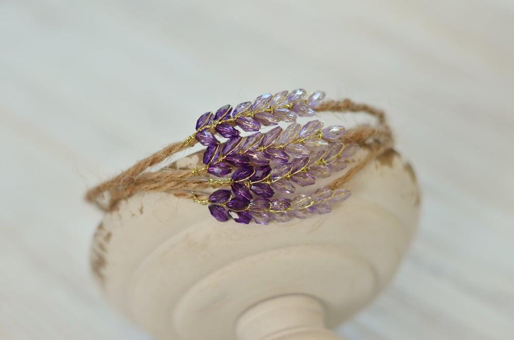 Image of Chrystal headband (lavender)