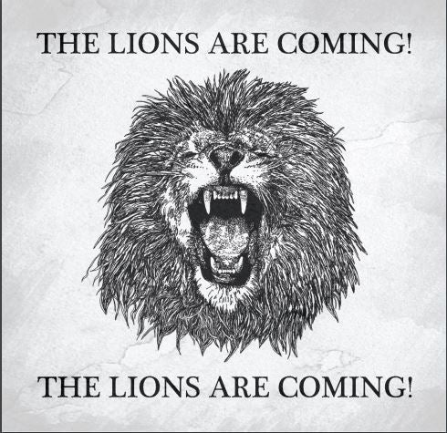 Image of THE LIONS ARE COMING - CD