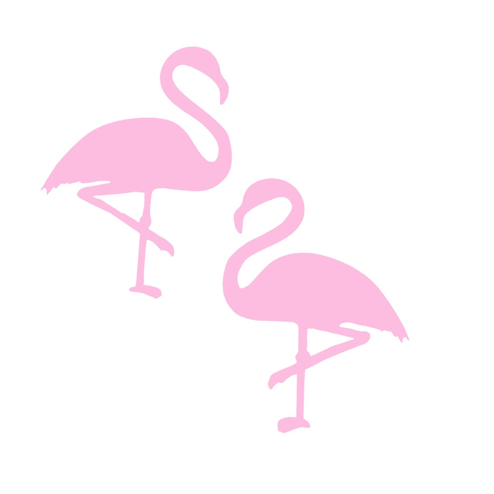 Image of Flamingo Stud Earrings