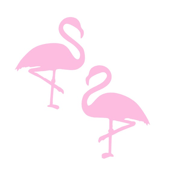 Flamingo Stud Earrings - Black Heart Creatives
