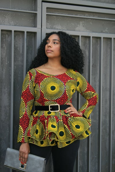 Image of THE MONA PEB BLOUSE