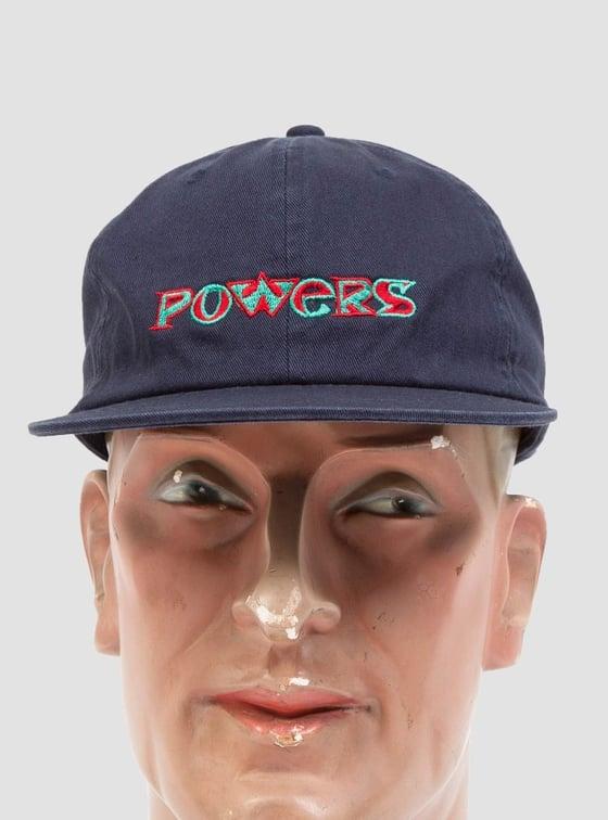 Image of Powers Type Cap Navy