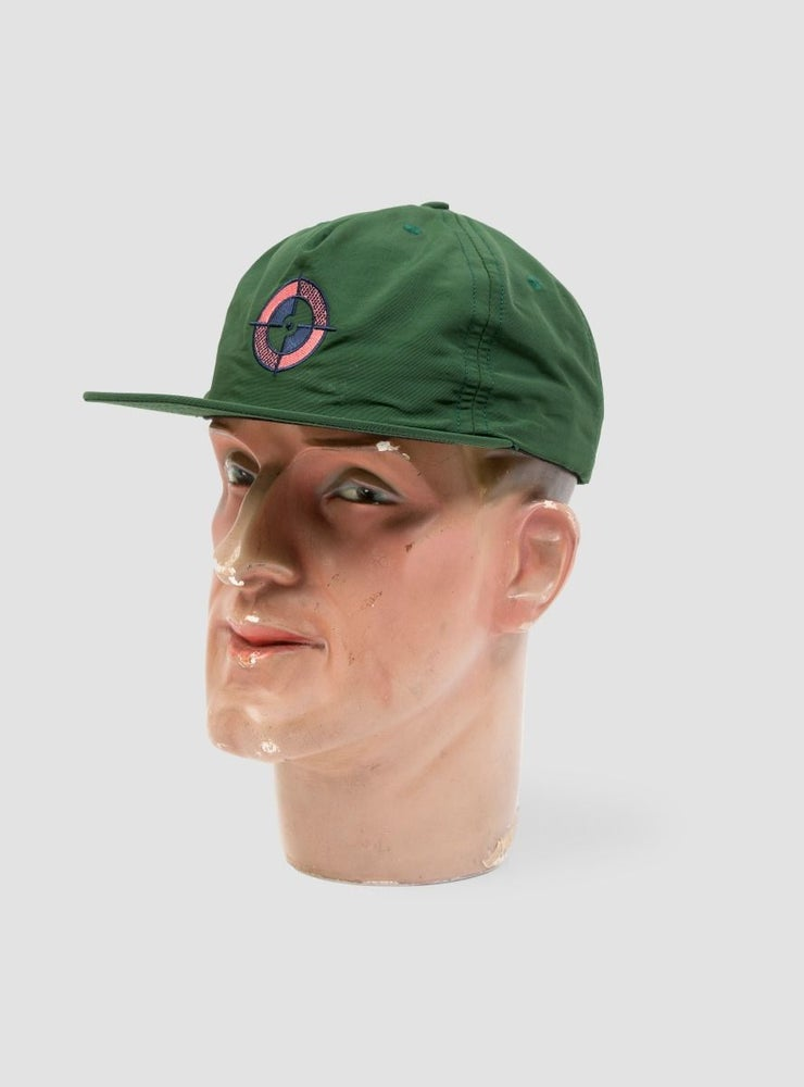 Image of Powers Target Logo Cap Green