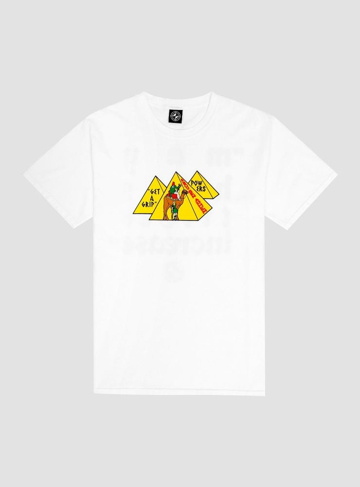 Image of Powers Get A Gripe T-Shirt White