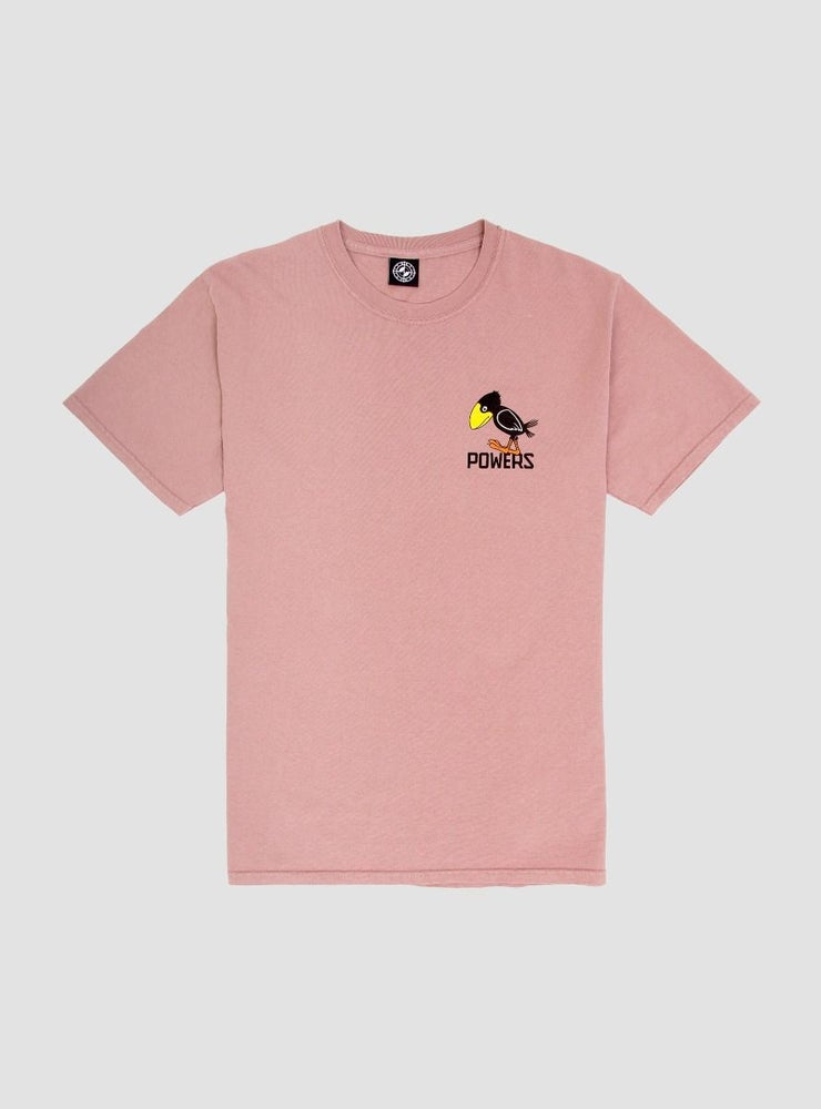 Image of Powers Sad Crow T-Shirt Mauve