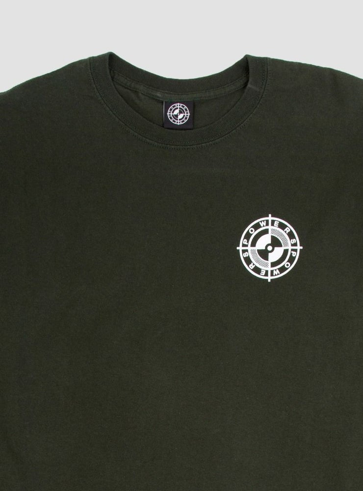 Image of Powers Screw Peace L/S Green