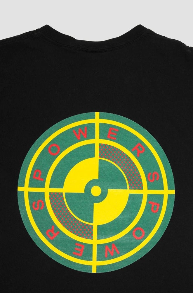Image of Powers Target T-Shirt Black