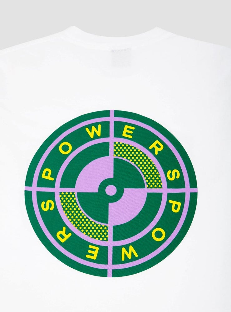 Image of Powers Target T-Shirt White