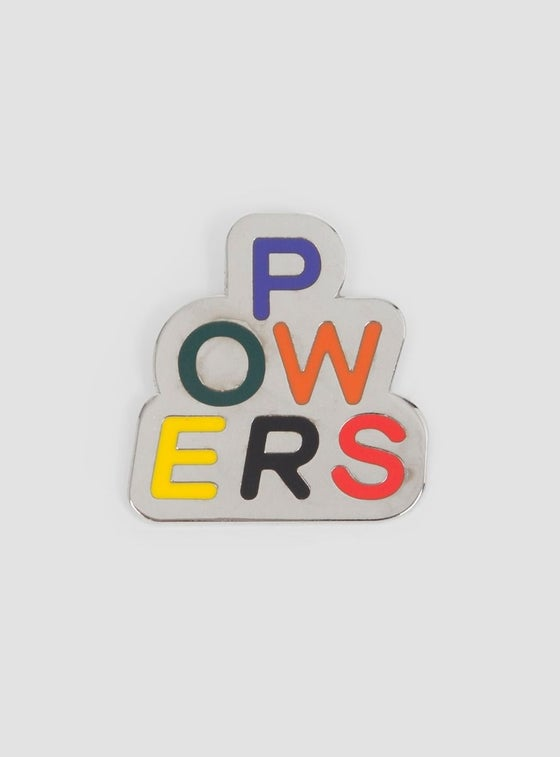 Image of Powers Stacked Pin