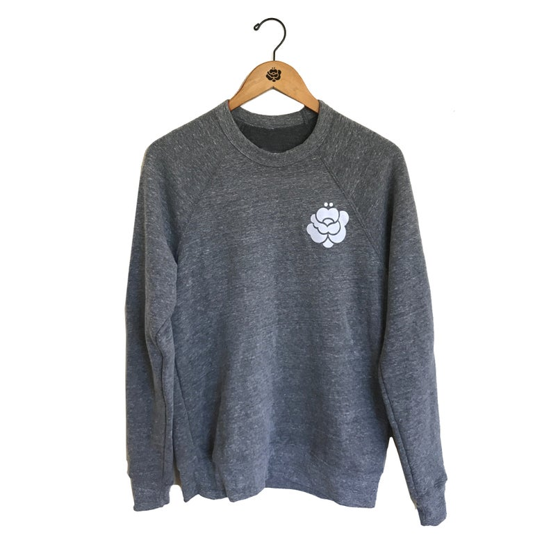 Image of Classic Logo Ultra Fleece Crew Neck Sweater